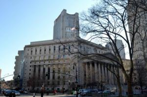 写真=マンハッタンの裁判所