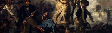 写真=民衆を導く自由の女神(ドラクロワ作)