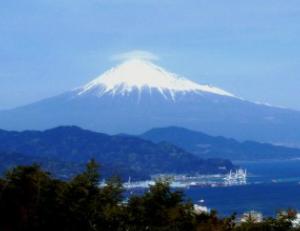 写真=富士山(静岡県側から撮影)