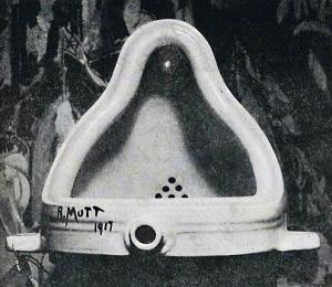 写真=デュシャンによる『泉』
