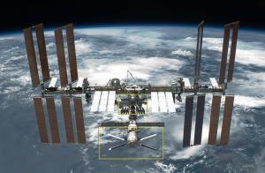 写真=国際宇宙ステーション(資料)