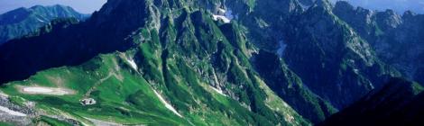 写真=立山連峰・剱岳(富山県)
