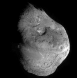 写真=問題のテンペル第1彗星