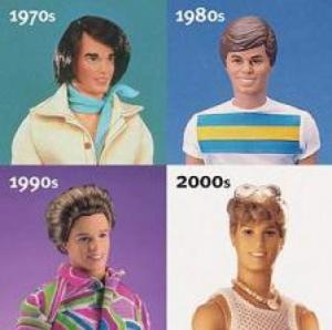 写真=ケンの顔の変遷