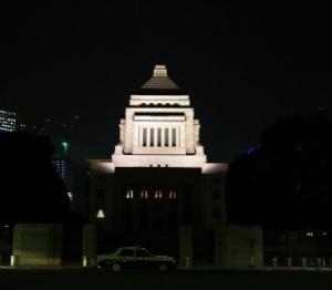 写真=「卒業制作展は国会議事堂で行いたい」(大学関係者)