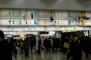 写真=新宿駅は「迷宮」「魔境」「ダンジョン」「樹海」などと呼ばれる