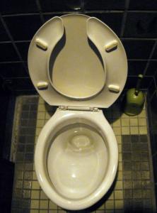 写真=VRで体験できる洋式トイレ