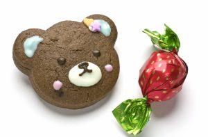 写真=男子生徒に配られたチョコレート